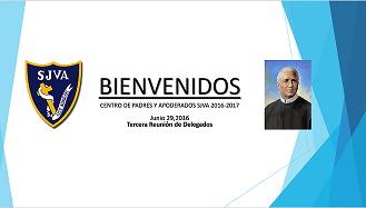 INFORMACION 3RA REUNION DE DELEGADOS