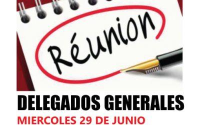 Reunion de Delegados Grales