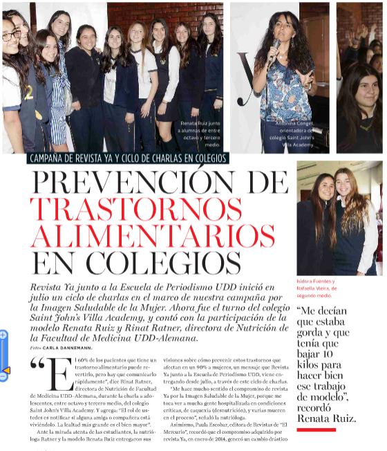 Ciclo de Charlas – Revista Ya