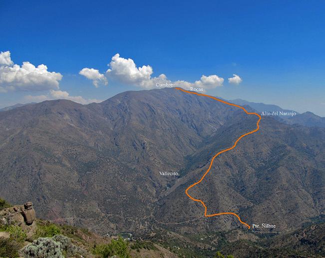 4ta Salida – Cerro Provincia